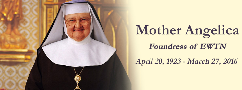 Mother Angelica Dies at 92 on Easter Day